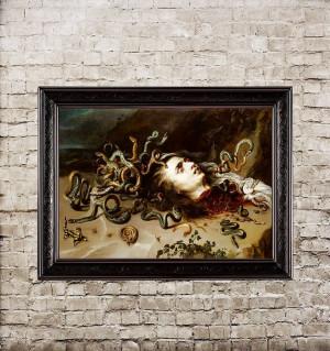 Peter Paul Rubens. The head...