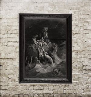 Gustave Doré. The Deluge....