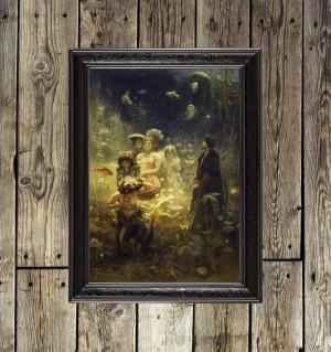 Ilya Repin - Sadko in the...