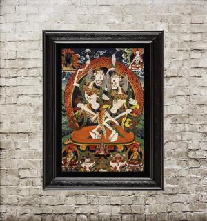 Tibetan deity