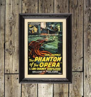 Phantom of the Opera decor